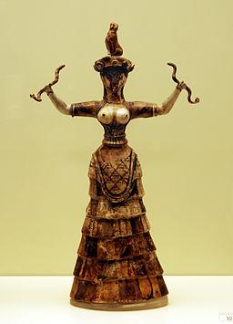 256px-Snake_Goddess_-_Heraklion_Achaeological_Museum_retouched