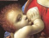 En pupp som får lov til å slippe ut. Ill: Leonardo da Vinci/Wikimedia