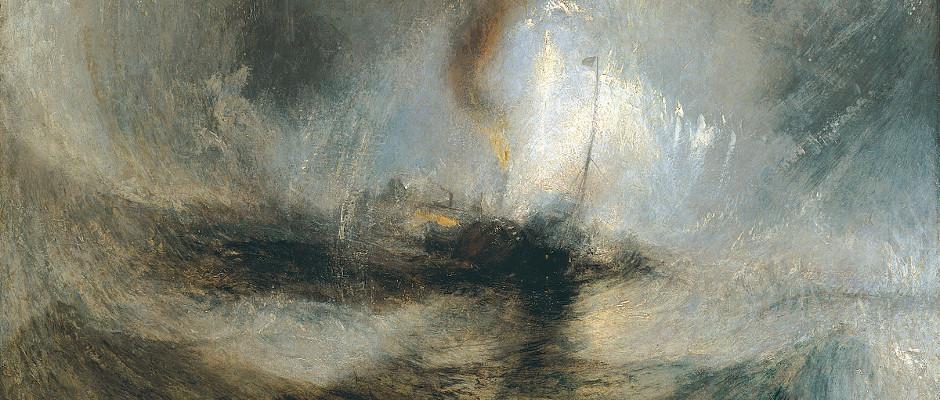 Ill: J. M. W. Turner: Snowstorm/Public Domain/Wikipedia