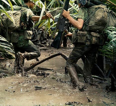 Vietnamkrigen 1968. Foto fra manhai på Flickr. CCBY 2.0.